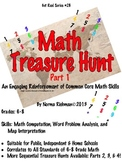 MATH TREASURE HUNT  LESSON FOR ENGAGING COMMON CORE MATH A