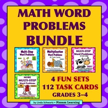 MATH WORD PROBLEMS BUNDLE