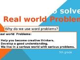 MATH WORD PROBLEMS RESOLUTION METHOD BUCK