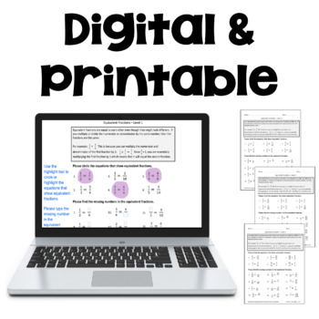 Math Worksheet Bundle with Decimals, Fractions, Long Division and Multiplication