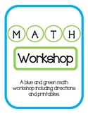 MATH Workshop - Blue and Green Edition