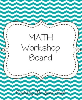 MATH Workshop Board