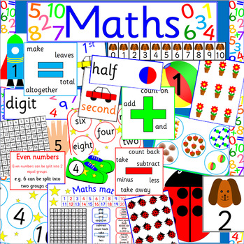 MATH bumper resource pack- NUMERACY, MATHS