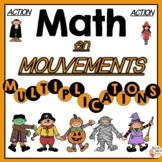 MATH en Mouvements - HALLOWEEN ET LES MULTIPLICATIONS