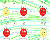 MATH multiplication of friends & enemies