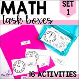 MATH task boxes {set one}