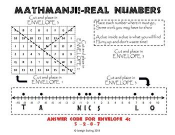 MATHMANJI! Escape Room - Real Numbers