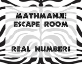 MATHAMNJI! Escape Room - Real Numbers