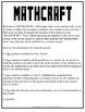 MATHCRAFT: Fifth Grade Math Review Packet