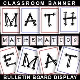 #1 Back-To-School! MATHEMATICS Bulletin Board Display for