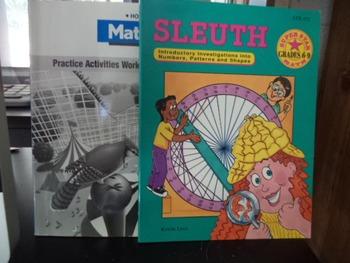 MATHEMATICS  PRACTICE ACTIVITIES SLEUTH    SET OF 2