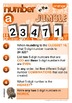 MATHEMATICS: Place Value: 5 digit numbers: Number in the Jumble: Orange Series