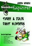 MATHEMATICS: Place Value & Number Sequence: 3 & 4 digit number Activity Pack