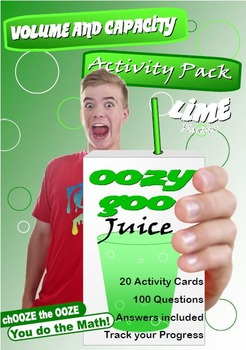 MATHEMATICS: Volume & Capacity; OOzy Goo Juice Activity Pack