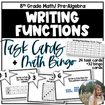MATHO (Math Bingo)- Writing Linear Functions