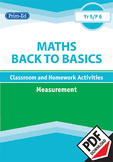 MATHS BACK TO BASICS: MEASUREMENT UNIT (Year 5/P6, Age 10-11)