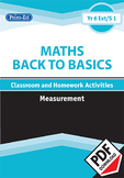 MATHS BACK TO BASICS: MEASUREMENT UNIT (Year 6/P7, Year 7/S1, Age 11-12)