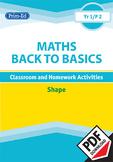 MATHS BACK TO BASICS: SHAPE UNIT  (Year 1/P2, Age 6-7)