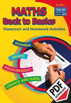MATHS BACK TO BASICS: YR1/P2 EBOOK