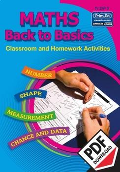 MATHS BACK TO BASICS: YR2/P3 EBOOK