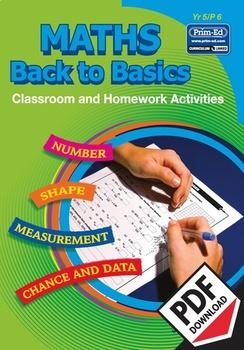 MATHS BACK TO BASICS: YR5/P6 EBOOK