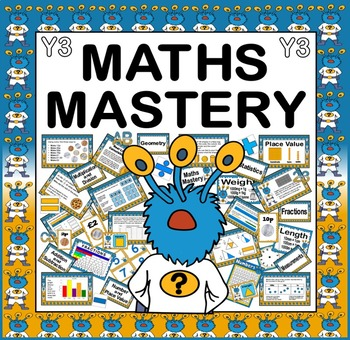 MATHS MASTERY FOR YEAR 3 - KEY STAGE 2 - CAPTAIN CONJECTURE NUMERACY