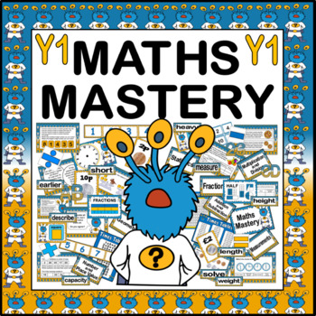 MATHS MASTERY TEACHING RESOURCES FOR YEAR 1 KS1 NUMERACY CAPTAIN ...