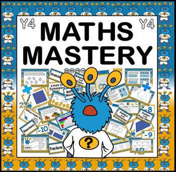 MATHS MASTERY TEACHING RESOURCES FOR YEAR 4 KS2 NUMERACY CAPTAIN CONJECTURE