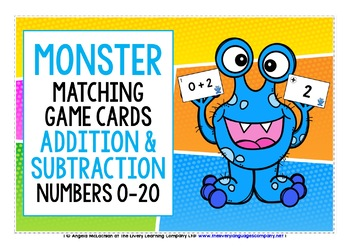 NUMBERS 0-20 ADDITION & SUBTRACTION CARDS