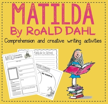 #memoriesdeal MATILDA - Creative Writing and Comprehension Activities!