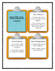 Roald Dahl MATILDA - THEME Discussion Cards