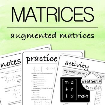 MATRICES - Augmented Matrices