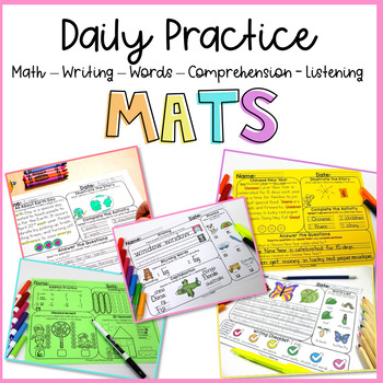 MATS sampler (comprehension, words, math, & writing)