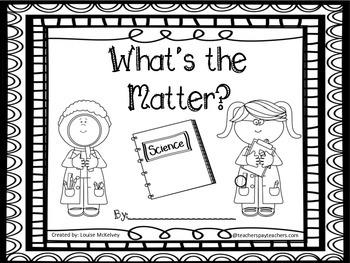 MATTER & Senses Unit Primary Bundle