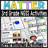 3rd Grade  Science Matter Unit Flip Books Vocabulary