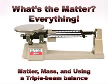 MATTER, WEIGHT, MASS & VOLUME- PowerPoint Lessons- part 1