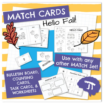 MATcH CARDS Hello Fall