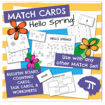 MATcH CARDS Hello Spring