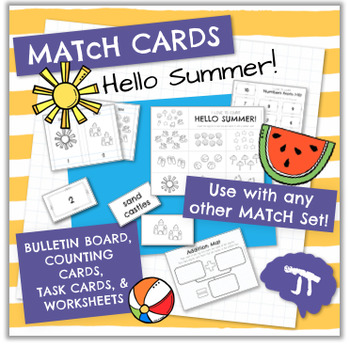 MATcH CARDS Hello Summer