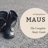 MAUS Part I Complete Study Guide **Digital Version Included**