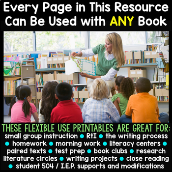 MAY BUNDLE  Graphic Organizers for Reading  Reading Graphic Organizers