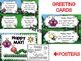 MAY BUNDLE-MAY Greeting Cards-MAY Bookmarks/Poster-SPRINGTIME Writing Stationary