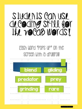 MAY Bundle! Vocabulary PowerPoints match Rooted in Reading 2nd grade books!