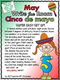 MAY CINCO de MAYO - Write the Room - Sight Words - EASY &