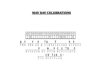 MAY DAY CRYPTOGRAM