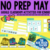 MAY Digital No Prep Math and Literacy Activities for Googl