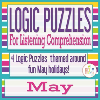 MAY Logic Puzzles for Listening Comprehension for SLPs