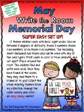 MAY MEMORIAL DAY - Write the Room - Sight Words - EASY & EDITABLE