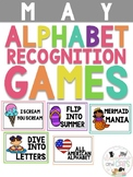 MAY Monthly Alphabet Letter Recognition Game for Pre Kinde