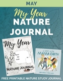 MAY My Year Nature Journal Free Printable